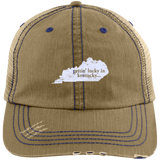 Gettin' Lucky In Kentucky Hat Kentucky Gift - getkentuckified