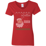 All I Want For Christmas Is Bourbon Shirt Bourbon Lover Gift - getkentuckified