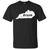 Drunk In Kentucky Shirt Gifts Funny Kentucky Shirt Bourbon - getkentuckified