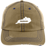 Best Mamaw Hat Kentucky Personalized Grandmother Hat - getkentuckified