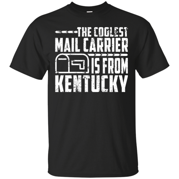Winter Mail Carrier Kentucky Best Mailman Tshirt Funny