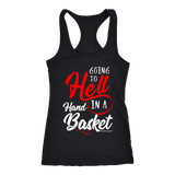 Funny Going To Hell Handbasket Kentucky Shirt Get Kentuckified Premium Shirt