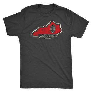 Get Kentuckified Football Red Shirt Football Season In Louisville Kentucky Gift
