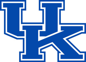 "University of Kentucky Wildcats UK 3"" White or Blue Vinyl Decal Truck Car Window FREE SHIPPING WITH CODE UKFREESHIP"