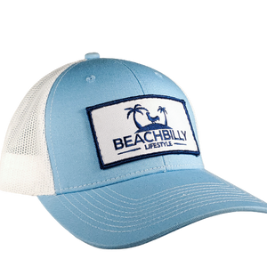 Beachbilly Patch Hat - Light Blue