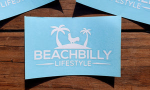 Beachbilly Decal - White