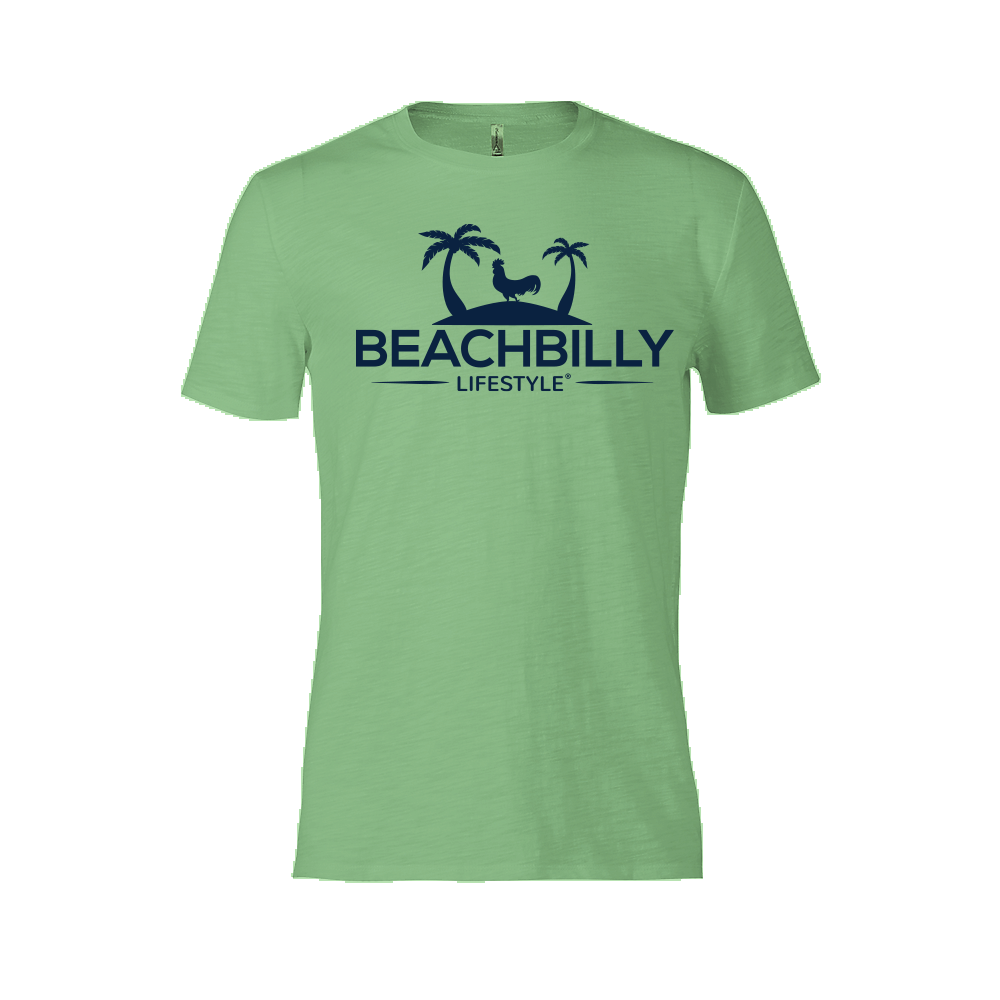 Beachbilly Original - Green Apple and Navy