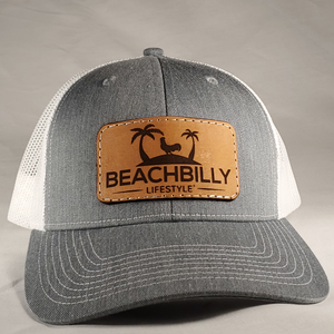 Leather Original Patch Hat - Heather Grey