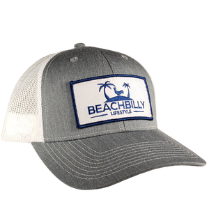 Beachbilly Patch Hat - Heather Grey