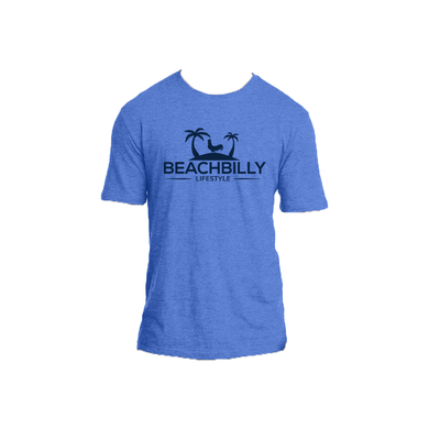 Beachbilly Original - Heather Blue with Navy