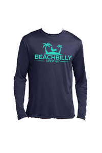 Beachbilly Fishing - Navy with Teal