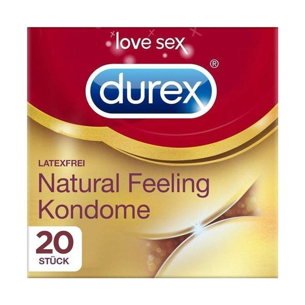 Durex Natural Feeling, 20 Kondome