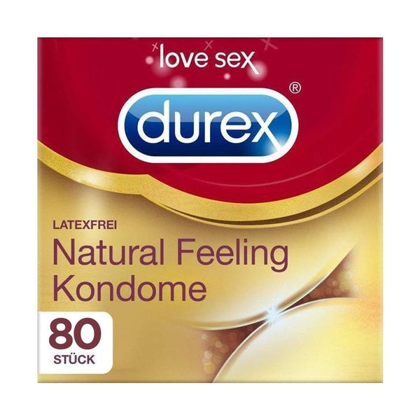 Durex Natural Feeling, 80 Kondome