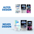 Durex DE Premium Trio Vorteilsset Altes vs Neues Design