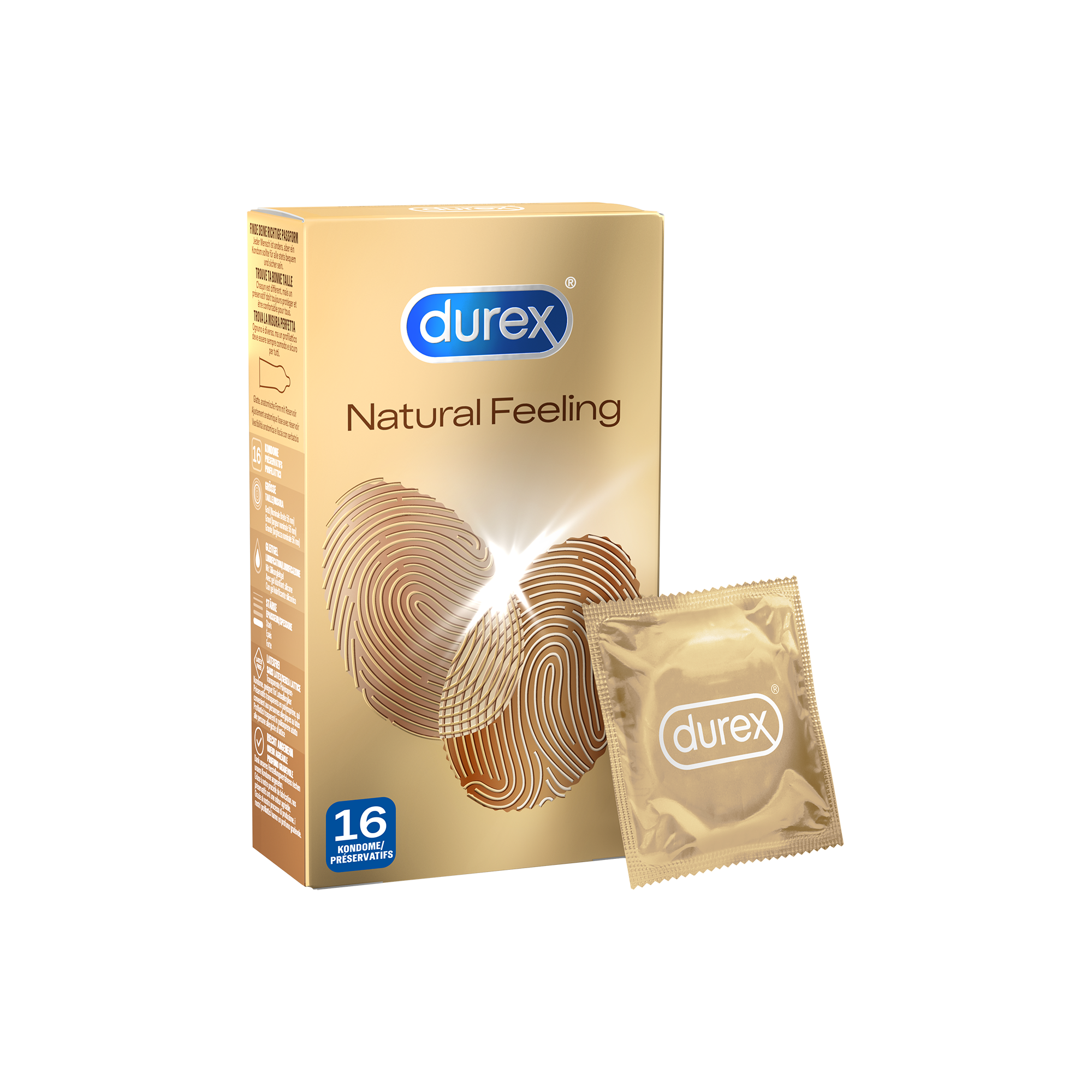 Durex DE - Natural Feeling 16 Kondomes