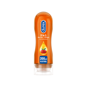 Durex 2in1 Massage- und Gleitgel Guarana, 200ml