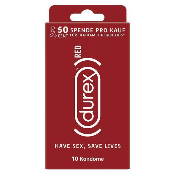 Durex DE Condoms Durex RED Classic, 10 Kondome