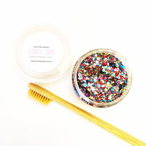 Glitter Fairies Harlequin Festival Bio-degradable Beard Kit