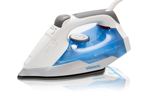 1500W Steam Iron - Quilters & Hobbyist Edition - Stainless Steel Soleplate - ETL-Listed