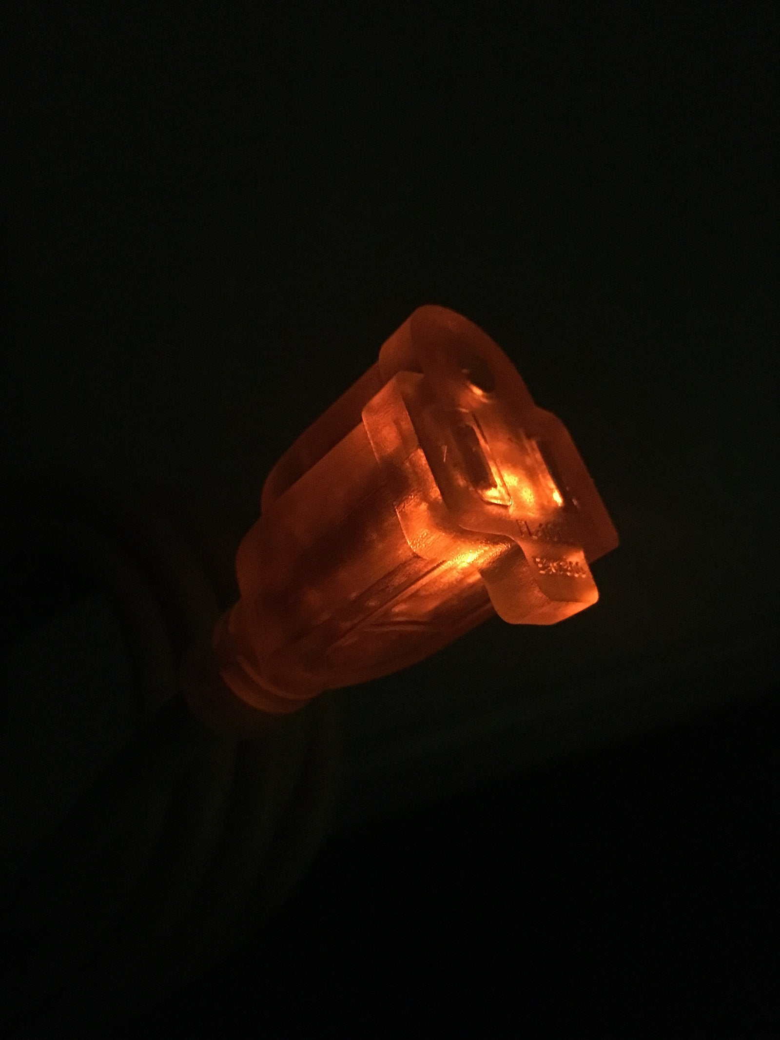 Lighted Plug