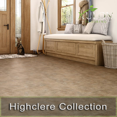 Highclere Collection-Glue Down LVT Tile Flooting
