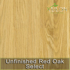 Unfinished Red Oak Select Solid Hardwood