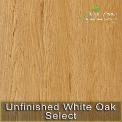 Unfinished White Oak Select Solid Hardwood