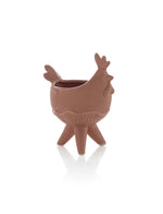 ROOSTER PLANTER, TERRACOTTA