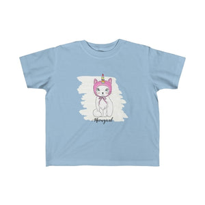 Meowgical Cat Unicorn Kids Tee