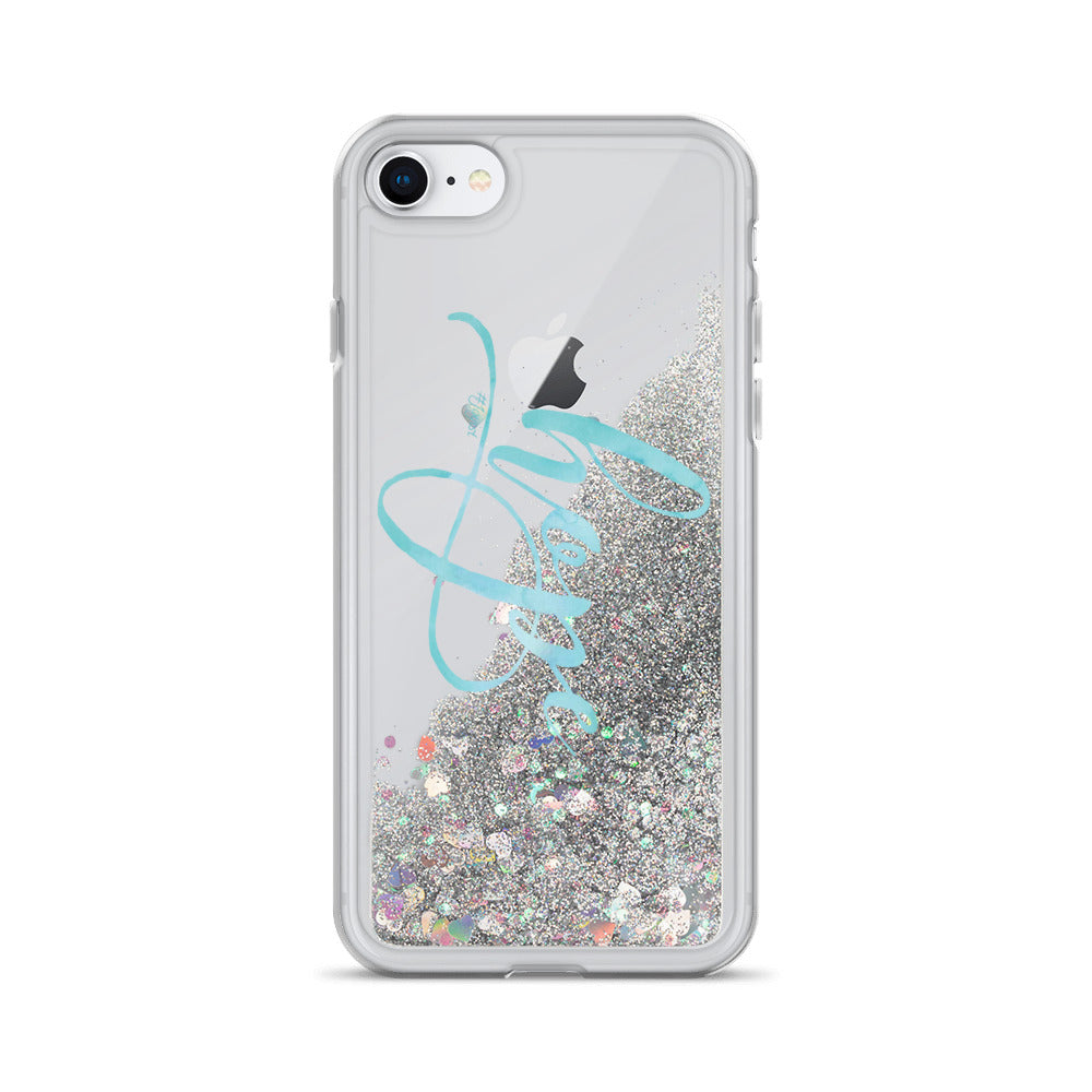 Hope Liquid Glitter Phone Case