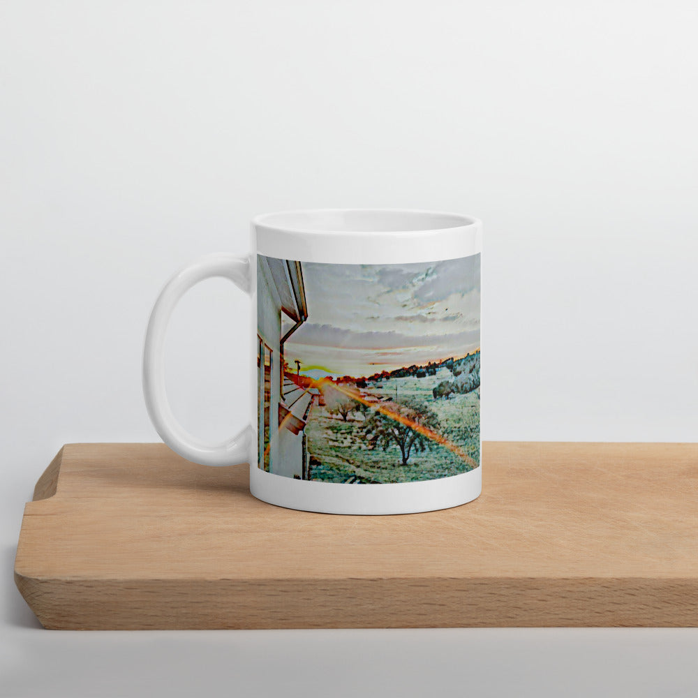 Electric Sunset Mug