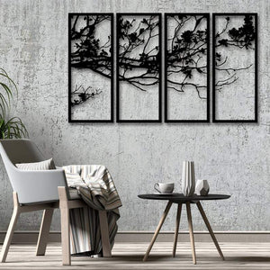 Rise of Nature - Metal Wall Art