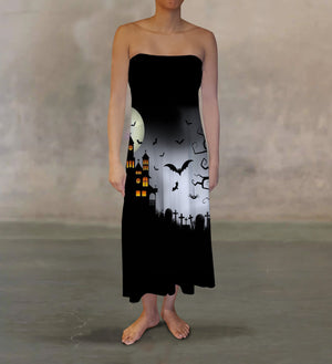 Haunted House Maxi Skirt