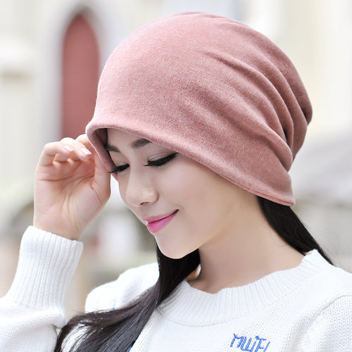 Womens Mens Cotton Solid Hats