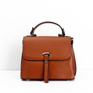 Mia 2018 New Fashionable Leisure Genuine Leather Retro Bag