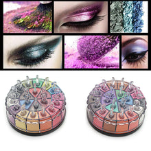 20 Colors Shimmer Eyeshadow Palette Glitter Smoky Eyeshadow Long-Lasting Eye Makeup Set