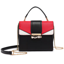 2018 Fashion Contrast Color Messenger Bag Leisure Chain Shoulder Bag Handbags