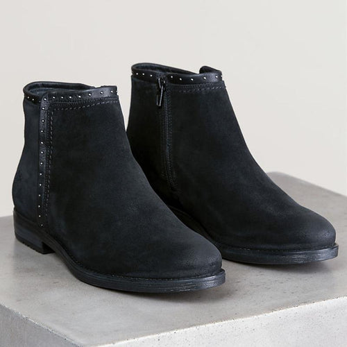 Women's Waterproof Suede Ankle Boots