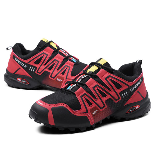 Outdoor Shoes Non-slip Track Tunning Sneakers Walking Shoes
