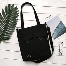 Canvas Leisure Simple Art Mori Tote Bag