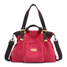 Canvas Women's Handheld Shoulder Bag