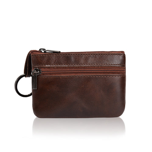 Leather Vintage Mini multi Function Card Coin Wallet handbag