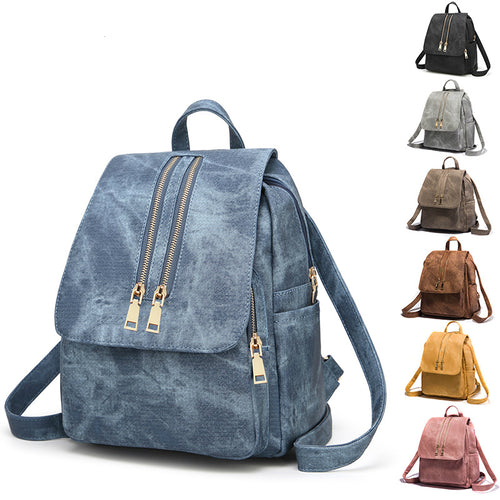 High Quality PU Casual Backpacks