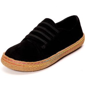 7662ce6a999 Suede Slip On Soft Loafers Lazy Casual Women s Shoes – Mollyca