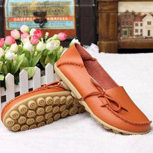 Big Size Pure Color Slip On Lace Up Soft Sole Comfortable Flat Loafers