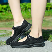 Big Size Mesh Breathable Casaul Heel Loafers Shoes