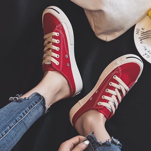 Womens Casual Spirng Summer Canvas Sports Shoes