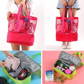 Handheld Lunch Bag Aluminum Foil Insulated Picnic Bag Food Storage Bag