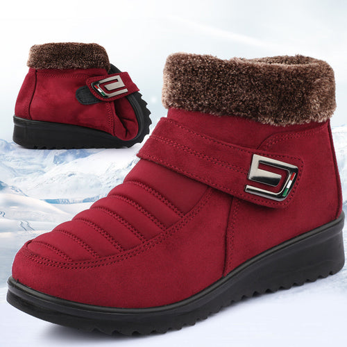 Women Winter Fur Slip-on Boots