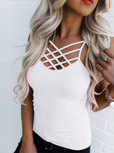 Criss Cross Cami Tops